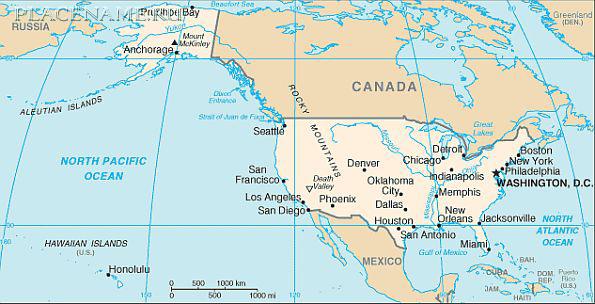 США — информация, история, карта, фото. США сегодня.